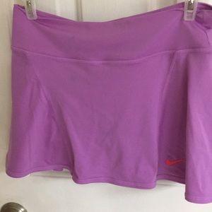 Nike lavender tennis skirt